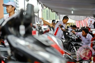 Jelang mudik servis sepeda motor meningkat