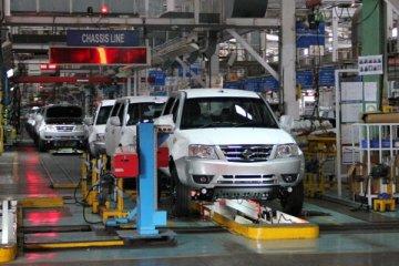pabrik Tata di Pune, India