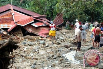 BPBD Ambon data 32 titik bencana longsor