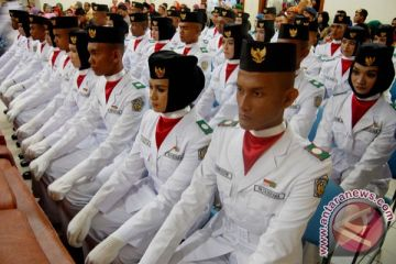 Pengukuhan Paskibraka Aceh