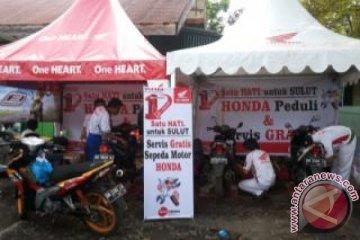Honda beri servis gratis bagi korban banjir