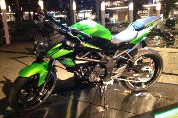 Mesin Kawasaki Z250 SL sama dengan Ninja RR Mono