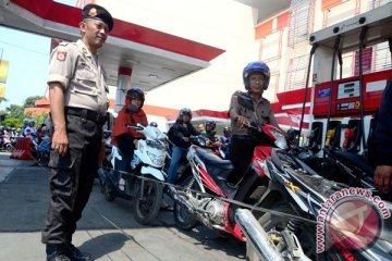 Polri awasi keamanan terkait kelangkaan BBM bersubsidi