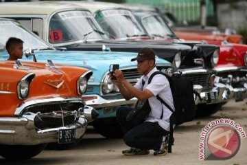 150 mobil kuno ikut reli di Magelang