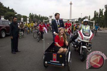 Kampanye Bersepeda Bersama Dubes Denmark