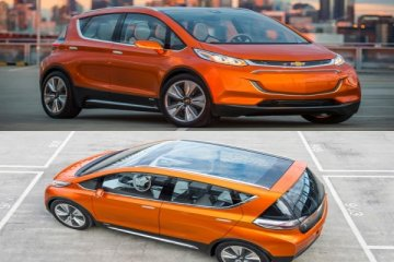 Chevrolet Bolt crossover kecil tenaga listrik