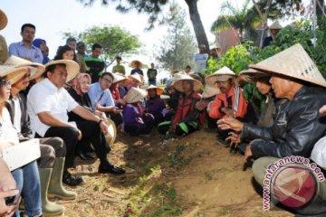 Mendag Kunjungi Sentra Pertanian