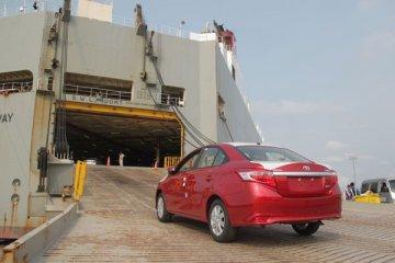 Kontribusi ekspor CBU Toyota Indonesia naik jadi 85,8 persen