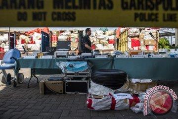 Polres Priok gagalkan barang ilegal Rp4,2 miliar