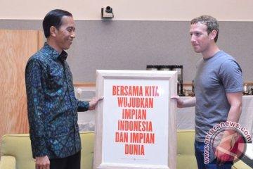 Presiden Joko Widodo Kunjungi Facebook