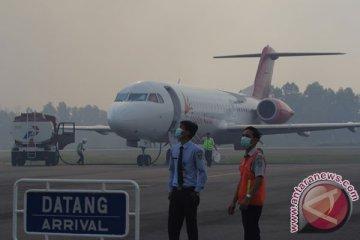 Bandara Mulai Diselimuti Kabut Asap