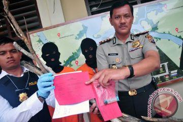 Tersangka Pembakar Lahan Riau
