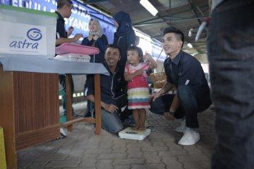 Ratusan karyawan Asuransi Astra jadi relawan Posyandu