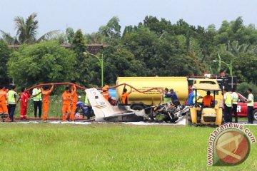Pesawat Latih Jatuh Di Banyuwangi