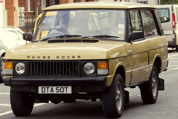 Land Rover Classic pulihkan Range Rover 1970an