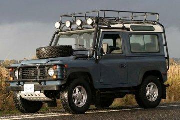 Land Rover tawarkan pembaruan untuk Defender lama