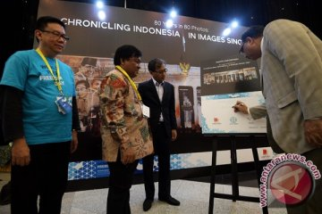 Pameran Foto Perjalanan Pers Indonesia