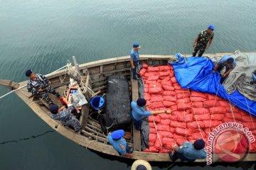 Tangkap Kapal Penyelundup Bawang Merah