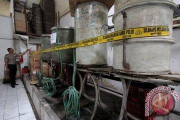Kasus Produksi Minuman Keras Ilegal