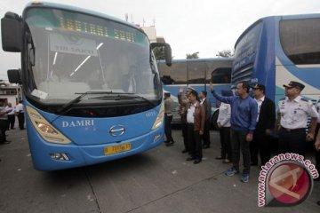 Uji Coba Bus Transjabodetabek Premium