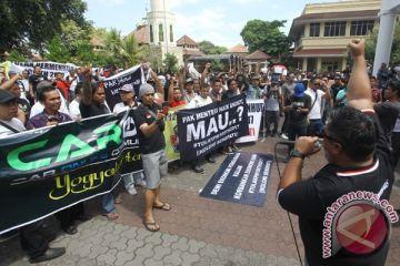 Pengemudi Online Yogyakarta Tolak Permenhub 108