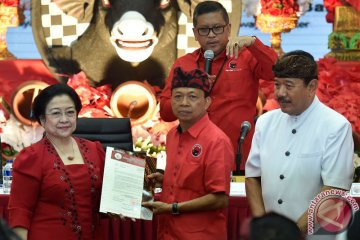 Cagub-Cawagub PDIP Pilgub Bali