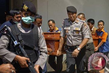 Jenazah Terduga Teroris Dipulangkan