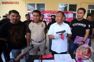 Rilis Pengungkapan Begal Lampung