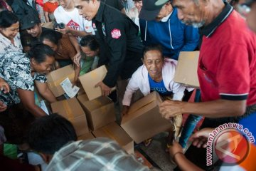 Bantuan Pengungsi Gunung Agung