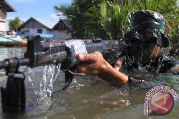 Latihan Hadang Teroris Jalur Laut