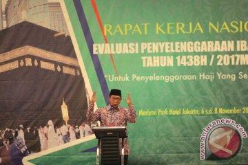 Rakornas Evaluasi Penyelenggaraan Ibadah Haji
