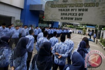 Upacara HUT Korpri Imigrasi Jakarta Pusat
