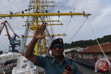 KRI Bima Suci Menuju Jakarta