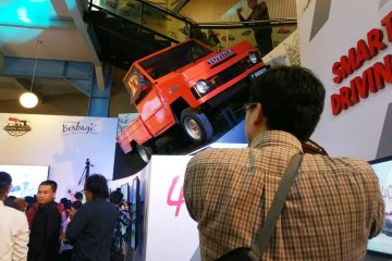 Mau paham soal mobil? datang ke booth Toyota Museum Angkut