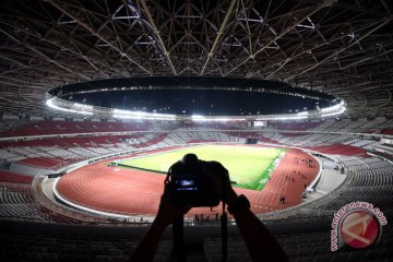 Renovasi Stadion Utama GBK Selesai