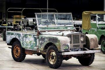 Land Rover rayakan usia 70 tahun dengan proyek restorasi unit pertama