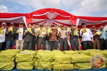 Rilis sabu 1,6 ton di Batam