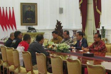 Presiden Jokowi minta ada patokan harga untuk ojek online
