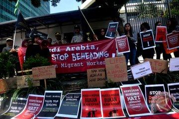 Aksi protes hukuman mati TKI