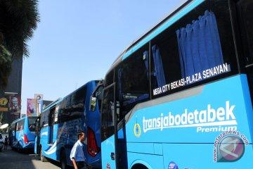 Armada bus selama pemberlakuan ganjil-genap