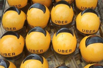 Uber diprotes, jalanan di Brussel lumpuh