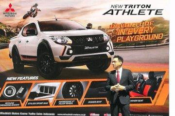 Mitsubishi mau jualan 50 unit Triton Athlete per bulan