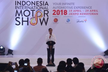 Presiden buka IIMS 2018