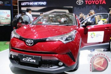 All New C-HR jadi bintang baru di booth Toyota IIMS