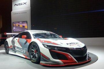 Rasakan NSX GT3 lewat virtual reality di Booth Honda