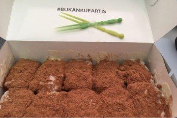Mencicipi usaha kuliner putra Jokowi di IIMS 2018
