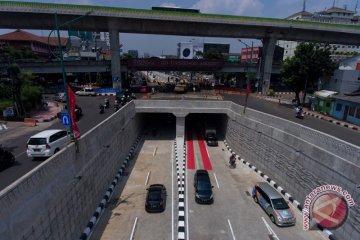 Uji coba underpass Mampang