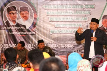 Diskusi Publik Cagub Jabar Ridwan Kamil Bersama GuruHonorer