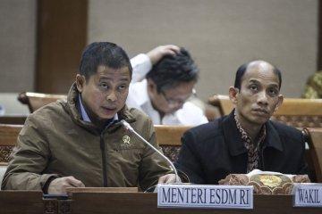 Raker komisi VII dengan Menteri ESDM