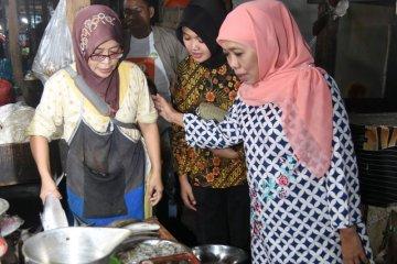Khofifah kunjungi pasar tradisional